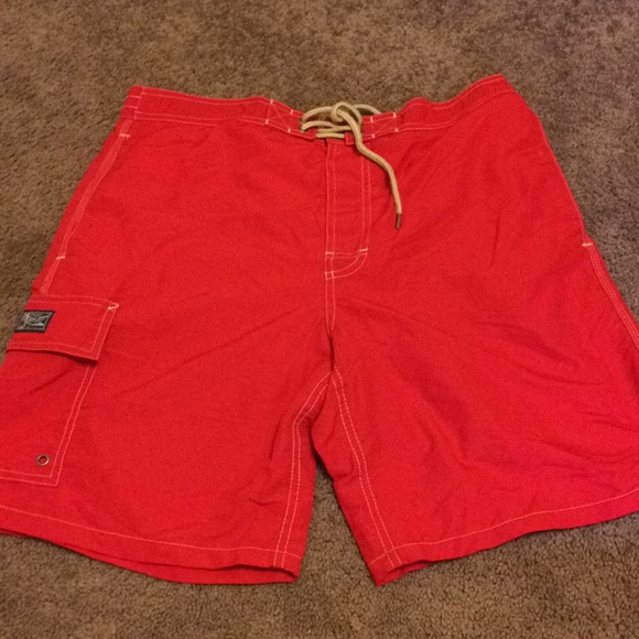 red polo sweater ralph lauren baby swim trunks